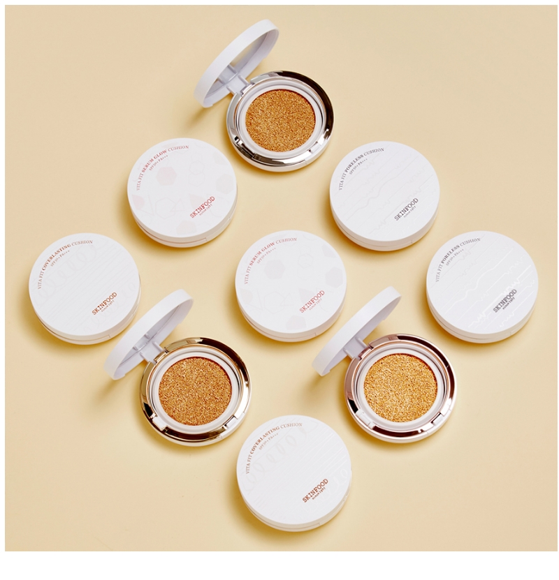 [Skinfood] Vita Fit Coverlasting Cushion SPF50+ PA+++ Perfect Effect All Day